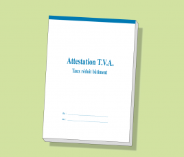 Attestations tva taux r duits ceag - Tva taux reduit ...