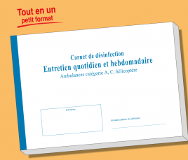 Carnet VSL - Entretien Quotidien et Hebdomadaire