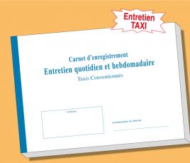 Carnet Taxis - Entretien Quotidien et Hebdomadaire