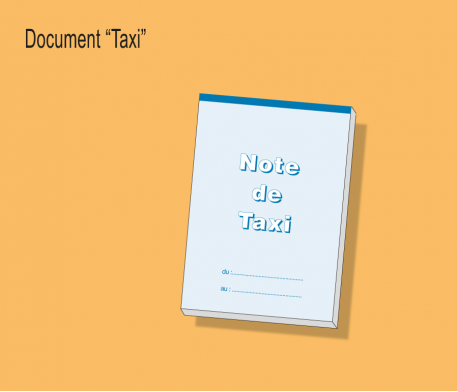 Carnet de Note de Taxis